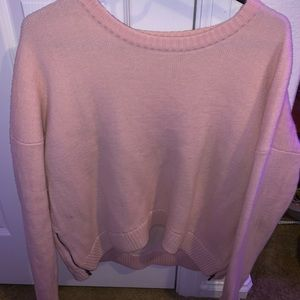 PINK LULULEMON SWEATER